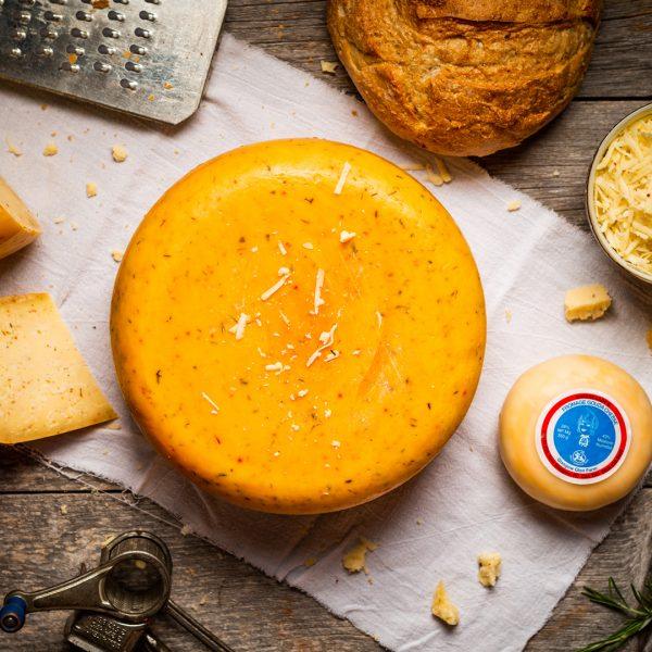 Pizza Gouda Cheese