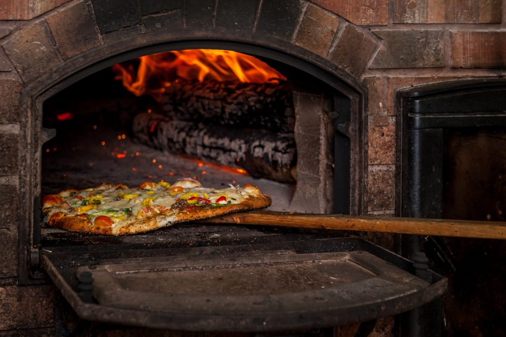 Stone-Fired Artisan Oven Pizza